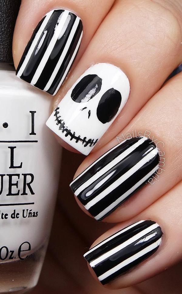 Halloween nail art-41
