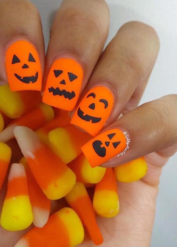 Halloween nail art-42