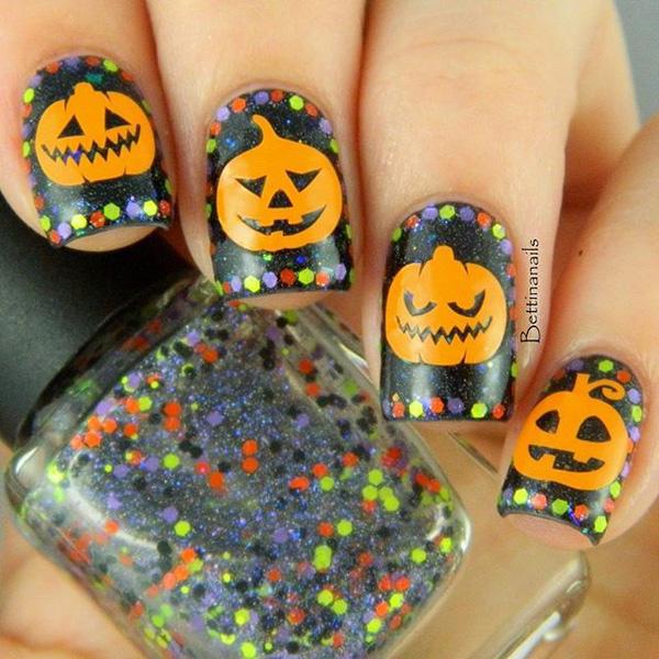 Halloween nail art-45