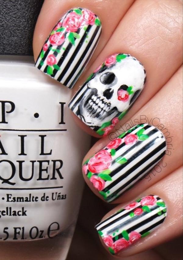 Halloween nail art-46