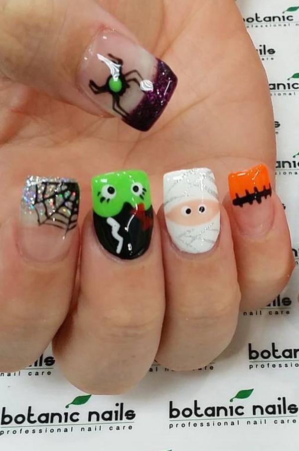 Halloween nail art-49