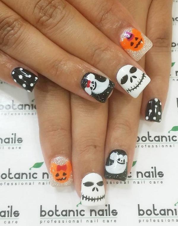 Halloween nail art-53