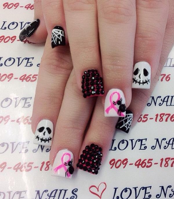 Halloween nail art-54