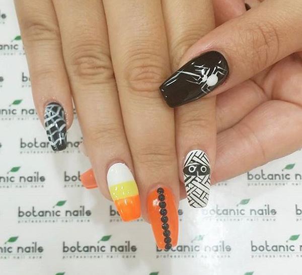 Halloween nail art-55