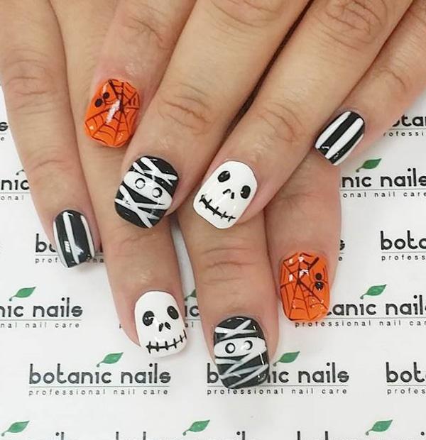 Halloween nail art-57