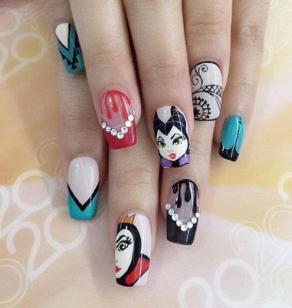 Halloween nail art-59