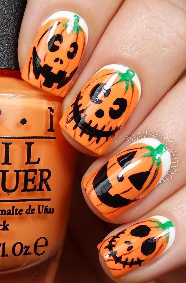 Halloween nail art-61