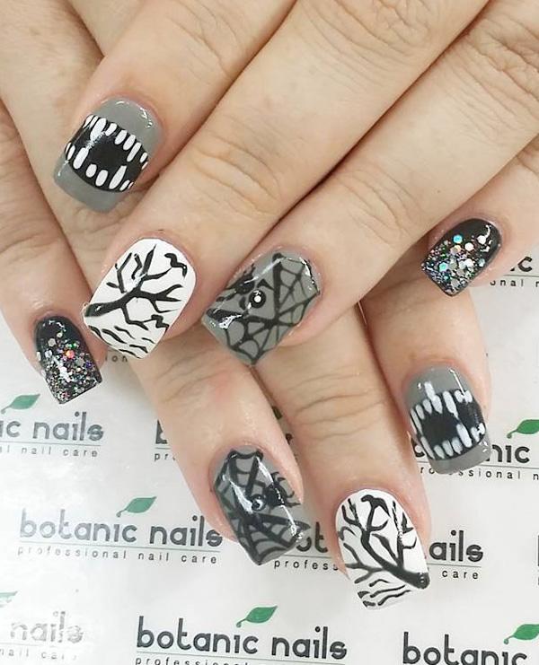 Halloween nail art-63