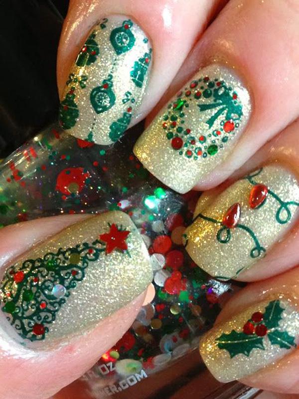 christmas nail art-55