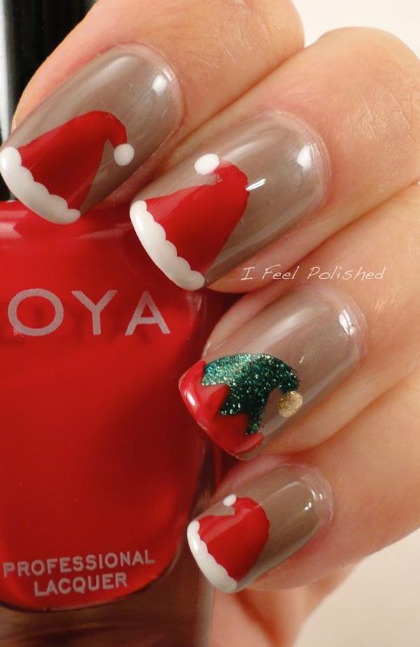 christmas nail art-8