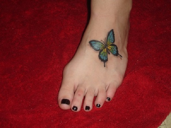 3D butterfly tattoo 15