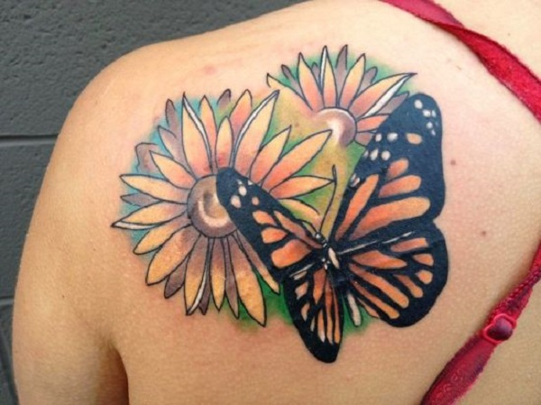 3D butterfly tattoo 16