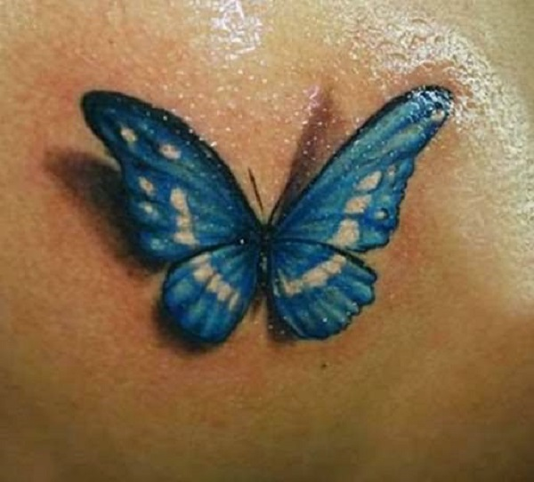 3D butterfly tattoo 29