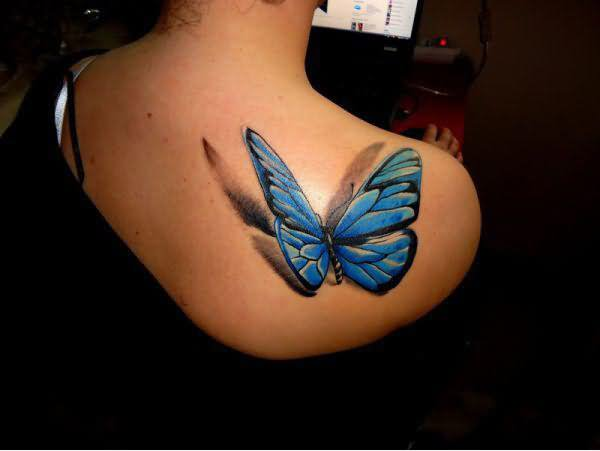 3D butterfly tattoo 32