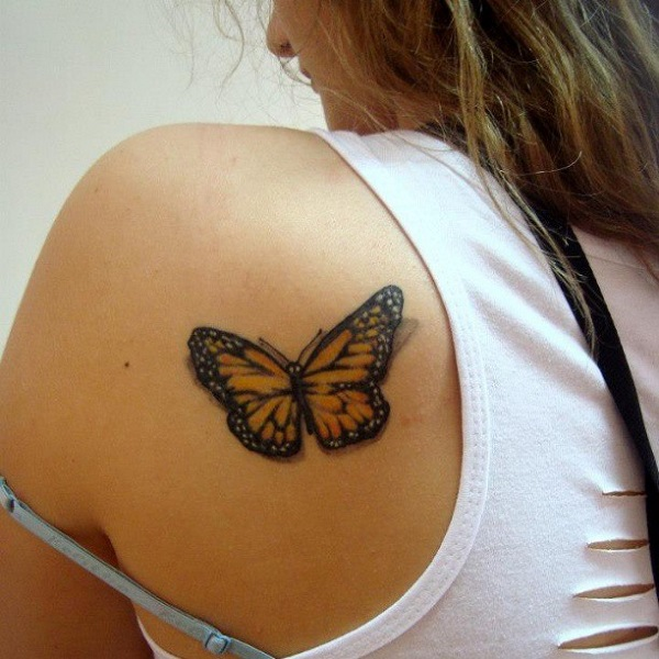 3D butterfly tattoo 33