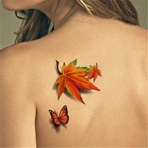 3D butterfly tattoo 41