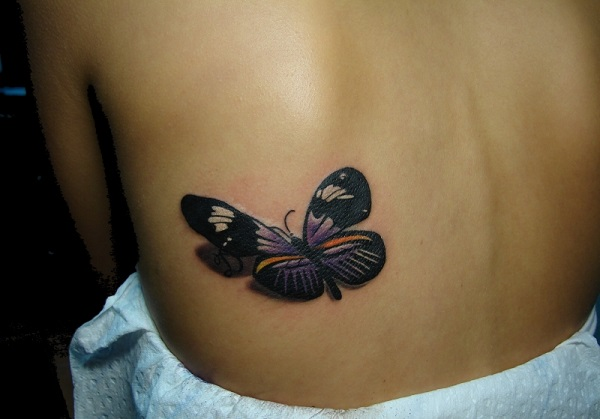3D butterfly tattoo 47