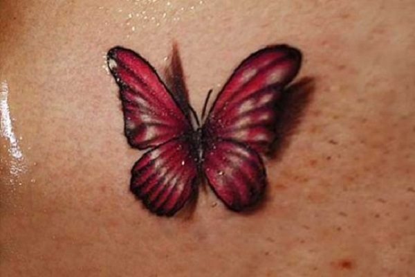 3D butterfly tattoo 49
