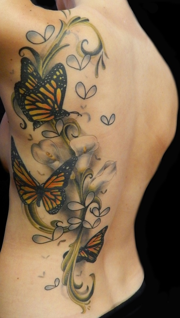 3D butterfly tattoo 51