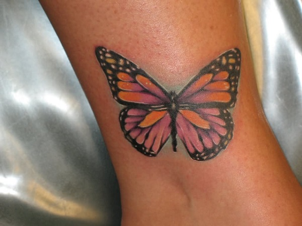 3D butterfly tattoo 52
