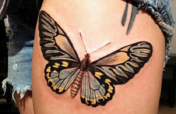 3D butterfly tattoo 56