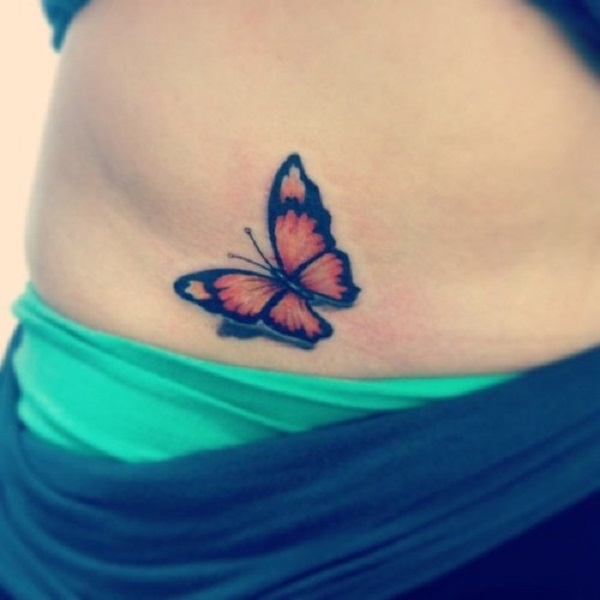 3D butterfly tattoo 58