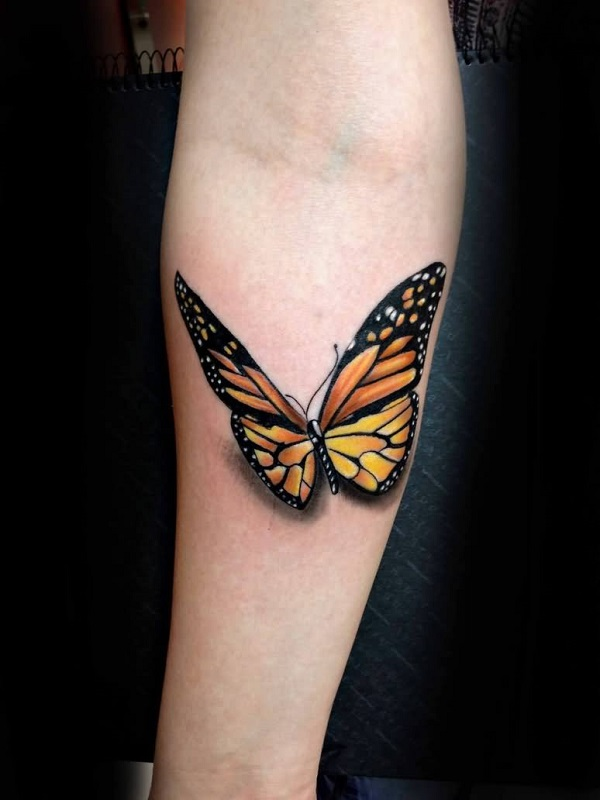 3D butterfly tattoo 59