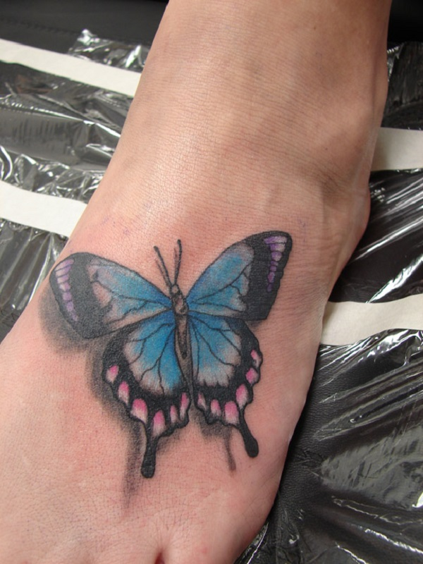 3D butterfly tattoo 61