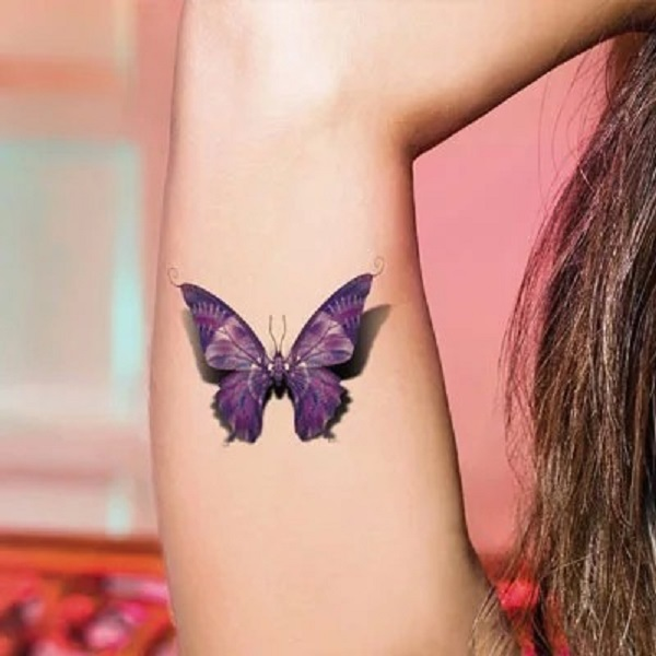 3D butterfly tattoo 62