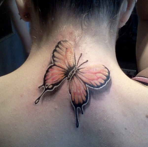 3D butterfly tattoo 64