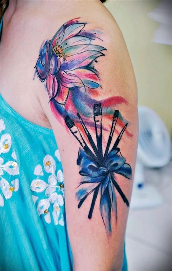 Lotus Tattoo12