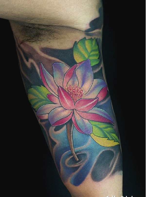 70 lotus tattoo design ideas nenuno creative a multicolored lotus flower tattoo there can be a lot of representations when it comes mightylinksfo
