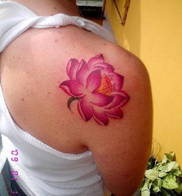 Lotus Tattoo23