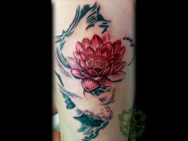 Lotus Tattoo26