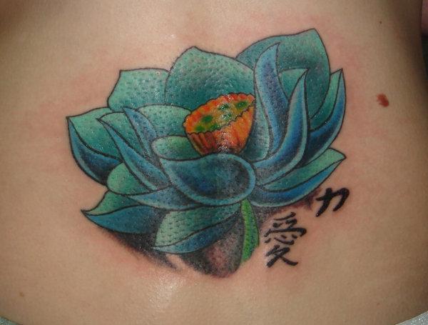 Lotus Tattoo40