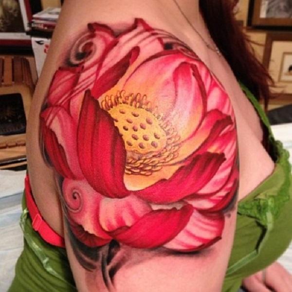 Lotus Tattoo43