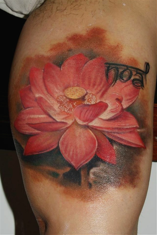 Lotus Tattoo45