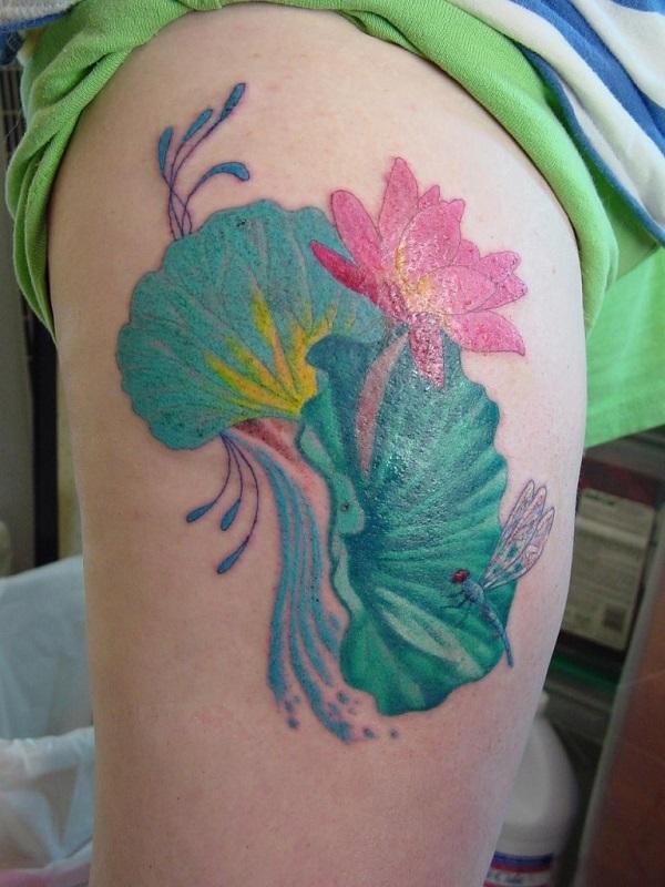Lotus Tattoo50