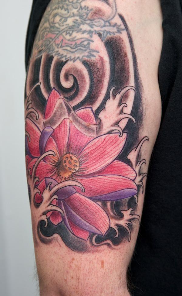 Lotus Tattoo58