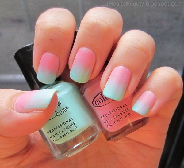 60 Ombre Nail Art Designs - nenuno creative