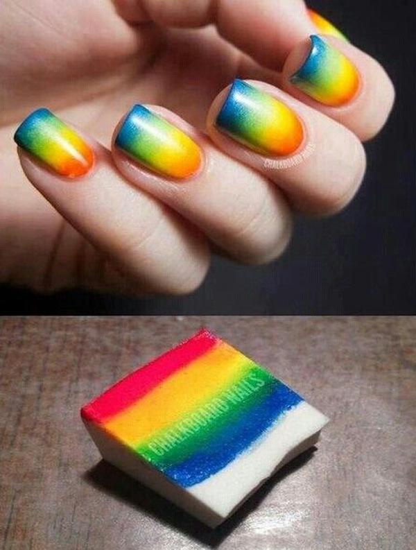 60 Ombre Nail Art Designs , nenuno creative