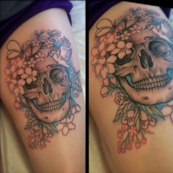 Skull Tattoos 10