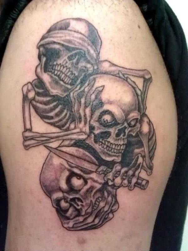 Skull Tattoos 12