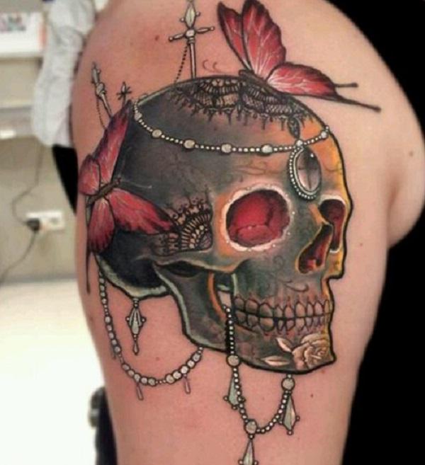 Skull Tattoos 14