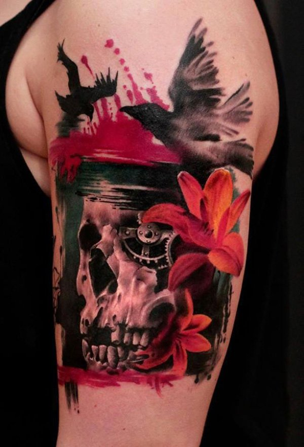 Skull Tattoos 34