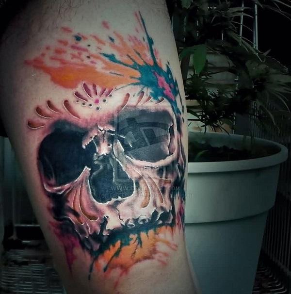 Skull Tattoos 42