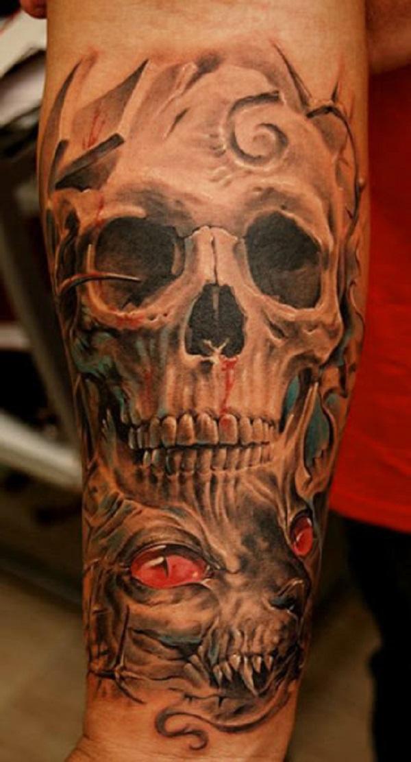 Skull Tattoos 46