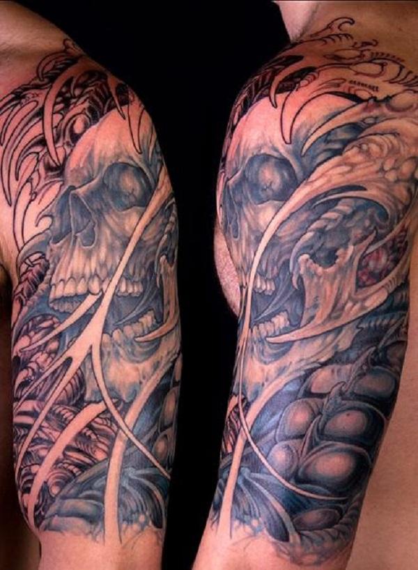 Skull Tattoos 48