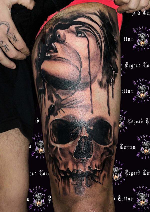 Skull Tattoos 54