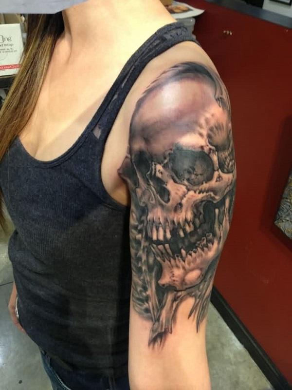 Skull Tattoos 57